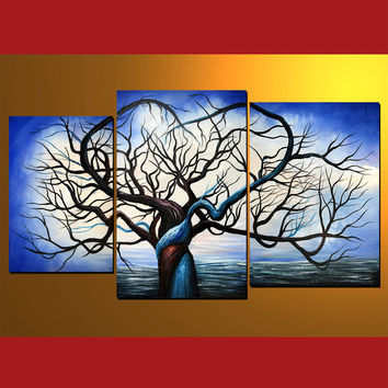 GMD3002  3-PCS Group Oil Painting