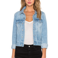 Assembly Label Femme Denim Jacket in Washed Denim