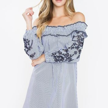 Parker Off The Shoulder Dress