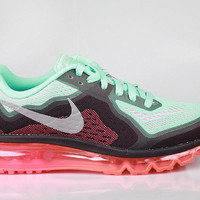 Nike Women's Air Max 2014 Hyper Turquoise Hyper Punch