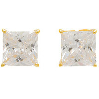 The Diamond Cut 8MM Stud Earrings