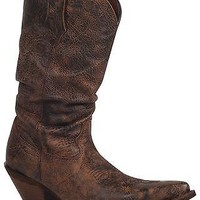 Durango Women's Crush Drunken Slouch Cowgirl Boot Snip Toe - RD3553