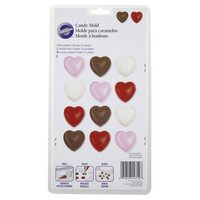Wilton® Candy Mold, Heart Shapes