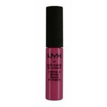 NYX Soft Matte Lip Cream, Prague, Copenhagen, Transylvania - Dark Purple Collection 1