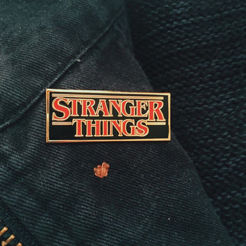 Stranger Things - Logo Pin