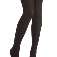 Truly Trustworthy Tights in Black | Mod Retro Vintage Tights | ModCloth.com