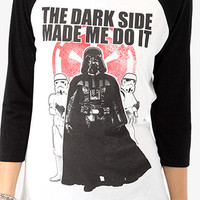 The Dark Side Baseball Top