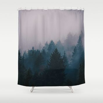 I Will Never Leave You Shower Curtain by Gallery One