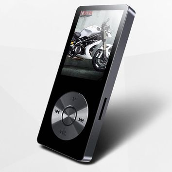"""New Metal 1.8""""Screen Music Player benjie Portable Digital Audio Player Original Brand Player MP3 with FM Radio Voice Recorder"""