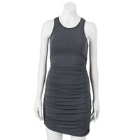 Juicy Couture Ruched Knit Dress - Women's