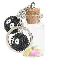 Studio Ghibli Spirited Away Soot Sprites Key Chain