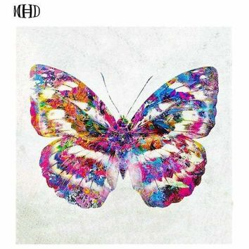 5D Diamond Painting Watercolor Pattern Butterfly Kit