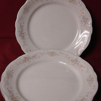 Haviland Johann, China Dinnerware, Floral Splendor Bavaria 2 Dinner plate 10""