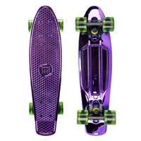 Mayhem Skateboard Anodized Purple