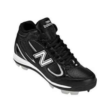 DCCK1IN new balance yb403 youth mid molded cleats black