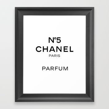 Fashion Poster Fashion Wall Art Typography Print Quote Print Art Wall Art Girl Room Art COCO CHANEL Framed Art Print by PrintableLifeStyle