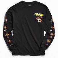 Crash Bandicoot Long Sleeve Tee | Urban Outfitters