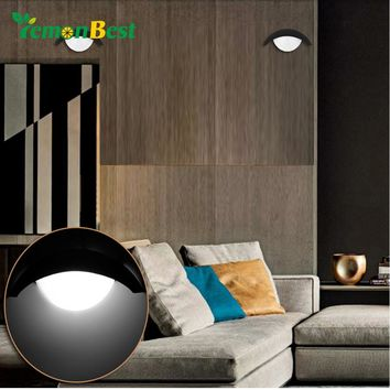 Indoor Decorative Wall Light 5W Moon Shape LED Wall Lamp for Theater KTV Bar Showcase Restaurant Gallery Living Room