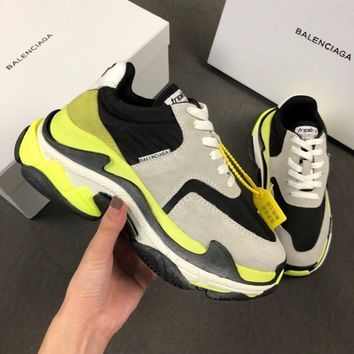 Balenciaga Triple-S Xia Gu jogging shoes-18