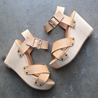bc footwear - teeny wedge sandals (more colors)