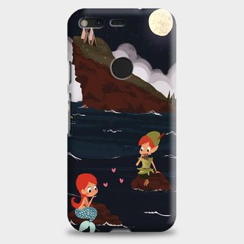 Peter Pan And Ariel Mermaid Google Pixel XL 2 Case | casescraft