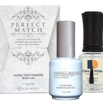 Lechat Perfect Match Gel + Nail Polish Ultra-Thin Varnish 0.5oz