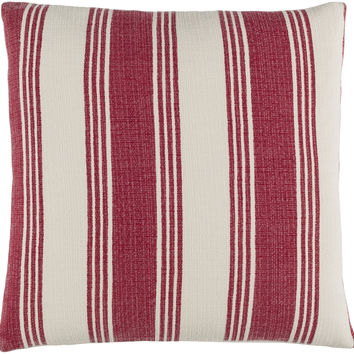 Surya Anchor Bay Throw Pillow Red, Neutral