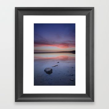 """Purple....."" Tarifa beach. Framed Art Print by Guido Montañés"