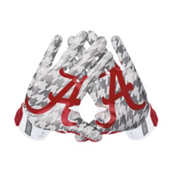 Nike Vapor Jet 3.0 On-Field (Alabama) Men's Football Gloves