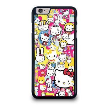 HELLO KITTY STICKER BOMB iPhone 6 / 6S Plus Case Cover