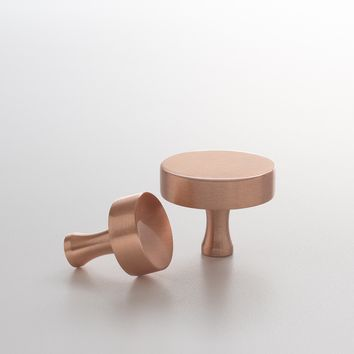 Riverwood Knob - Satin Copper