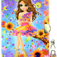 LISA FRANK CHICK LIGHT UP DIARY