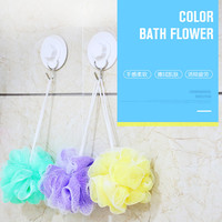 Color nylon bath sponge bathroom accessories bathroom set  Practical bath towel Z394