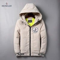 Moncler Fashion Casual Quilted Cardigan Jacket Coat Hoodie-1