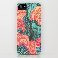 bengal mandala iPhone & iPod Case by Laura Graves