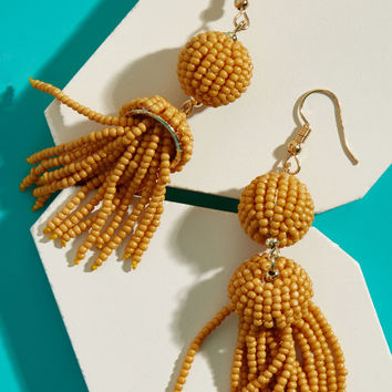 Cruise Patrol Earrings in Mustard