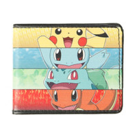 Pokemon Starters Panels Bi-Fold Wallet