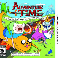 Adventure Time: Hey Ice King - Nintendo 3DS (Very Good)