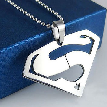 Hot Superhero Stainless Steel Necklace