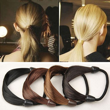 Hairband Hair Accessories New Korea Wig Rope Hair Band Accessories 2pcs/lot HB238