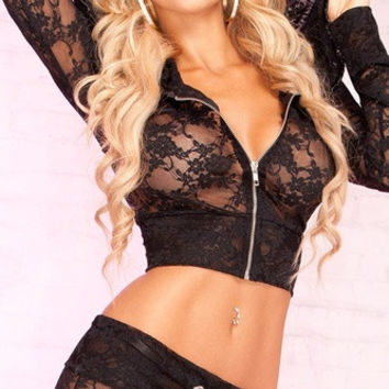 2014 Hot Sexy Lingerie Sex Sleepwear Adult Lingerie Deep V Women's Lace Sexy Underwear Black Badydoll Sleepwear seeexy 0058 = 1932472708