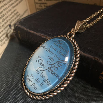 Peter Pan, The Moment You Doubt pendant