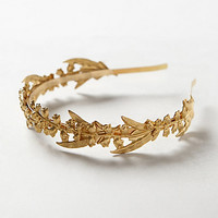 Golden Lily Headband