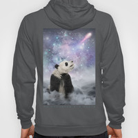 My Thoughts are Stars • (Panda Stargazer) Hoody by soaring anchor designs ⚓   Society6