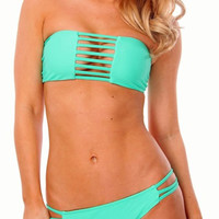 Cut Out Bandeau Bikini | Bloody-Fabulous