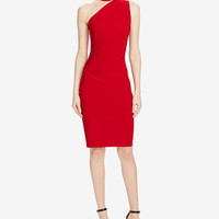 Lauren Ralph Lauren One-Shoulder Jersey Dress - Dresses - Women - Macy's
