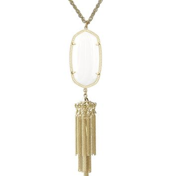 Rayne Necklace in White Pearl - Kendra Scott Jewelry