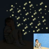 Kids Bedroom Glow In The Dark Stars! Remember these days!