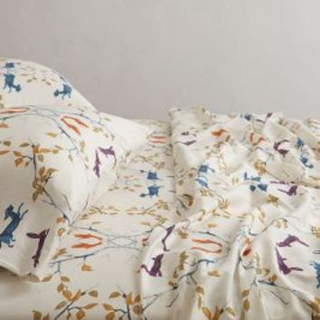 Creature Hideaway Sheet Set by Anthropologie Multi
