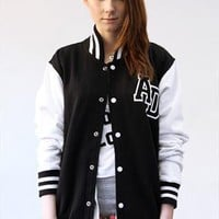 Star Crossed Loner Varsity Jacket from ART DISCO